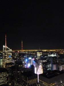 das Licht kommt übrigens vom Times Square